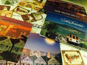 San Francisco postcard サンフランシスコ ポストカード