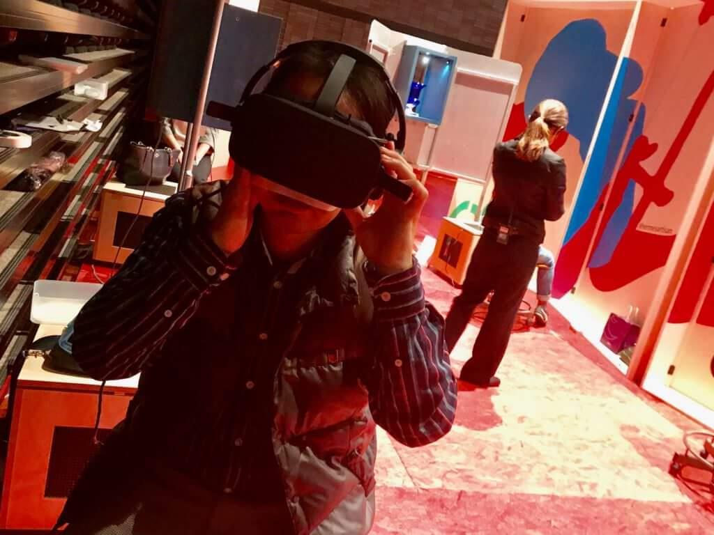伊堂寺義則 VR体験