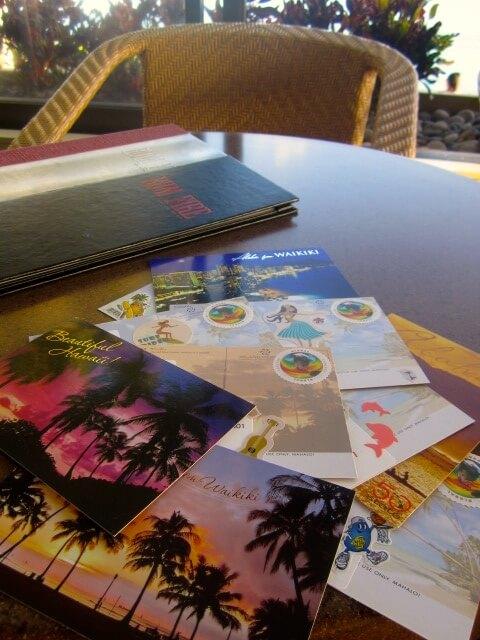 ポストカード ハワイ